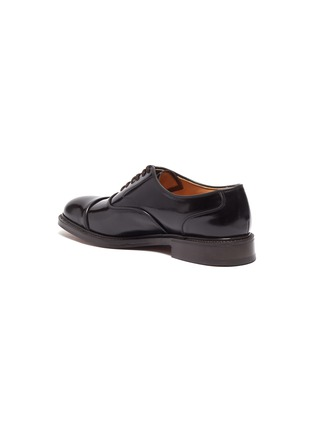 - CHURCH'S - 'Ongar' fumé leather Oxfords