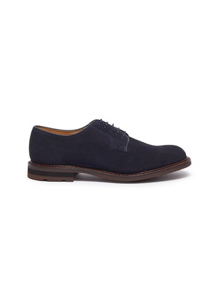 Main View - Click To Enlarge - CHURCH'S - 'Bestone' suede Derbies