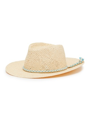 51f9912255550 Maison Michel  Charles  tassel raffia straw fedora hat