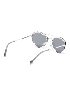 Miu Miu Metal cloud frame sunglasses