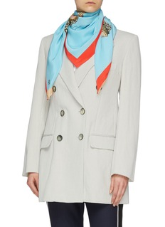 cjw 'Sushi Dreams' print silk twill scarf