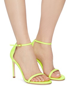 Stuart Weitzman 'Nudistsong' ankle strap leather sandals