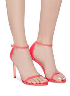Stuart Weitzman 'Nudist' ankle strap leather sandals