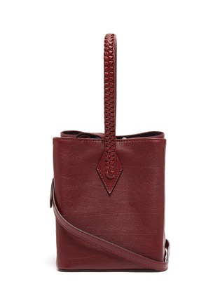 Main View - Click To Enlarge - MÉTIER - 'Perriand' leather mini tote