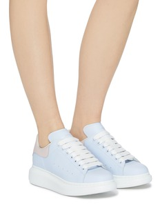 Alexander McQueen 'Larry' chunky outsole colourblock leather sneakers