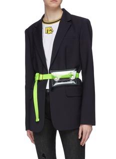Maison Boinet PVC pouch belt