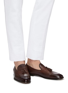 Doucal's Tassel leather loafers