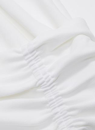 - TIBI - Shirred wrap top