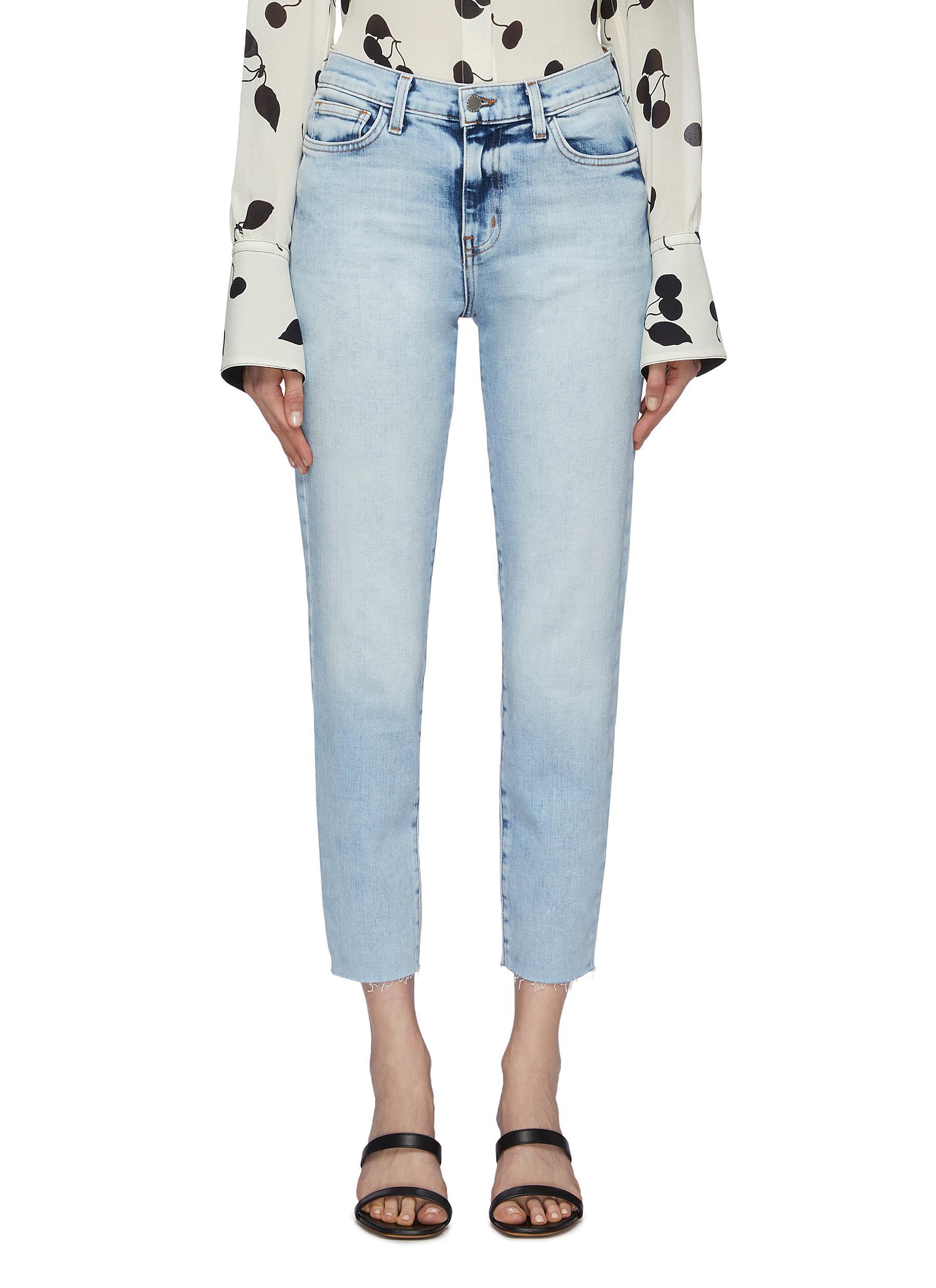 El Matador raw cuff slim fit jeans by L'Agence