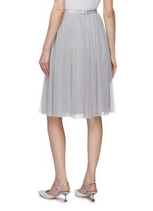 Back View - Click To Enlarge - NEEDLE & THREAD - 'Dotted' tulle midi skirt