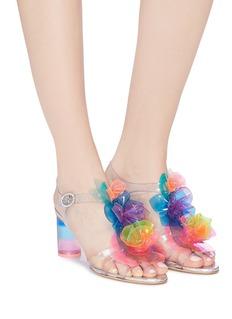 Sophia Webster 'Jumbo Lilico Rosa' appliqué PVC sandals