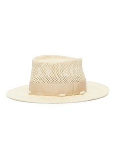 Gigi Burris Millinery 'Georgia' embellished Panama straw hat