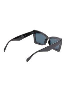 Topshop 'Koko' acetate cat eye sunglasses