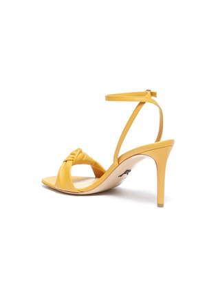- PAUL ANDREW - 'Defiantly Her' ankle strap knot leather sandals