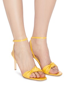 Paul Andrew 'Defiantly Her' ankle tie knot leather sandals
