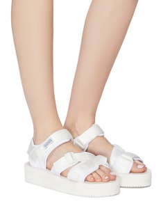 SUICOKE 'KISEE-VPO' strappy platform sandals