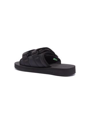 - SUICOKE - 'MOTO-Cab' strappy band slide sandals