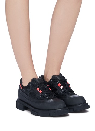 Figure View - Click To Enlarge - BOTH - 'Gao Runner' web panelled sneakers