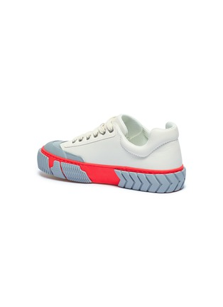 - BOTH - 'Skate Broken C' colourblock rubber panel leather sneakers