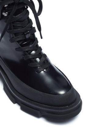 Detail View - Click To Enlarge - BOTH - 'Gao' leather combat boots
