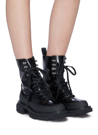 Figure View - Click To Enlarge - BOTH - 'Gao' leather combat boots