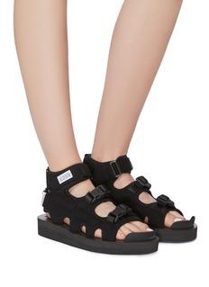 SUICOKE 'BOAK-V' caged high-top sandals