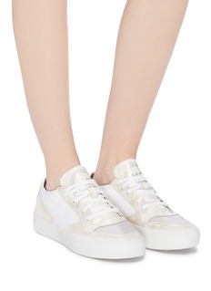 P448 'E8 Space' panelled platform sneakers