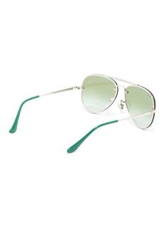 Ray-Ban Mirror metal aviator kids sunglasses