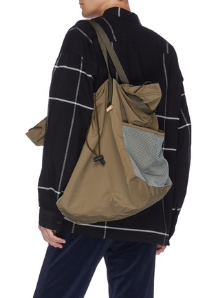 Figure View - Click To Enlarge - HENDER SCHEME - Drawstring tote bag