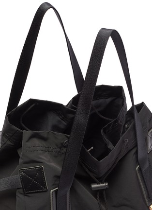 Detail View - Click To Enlarge - HENDER SCHEME - Drawstring tote bag