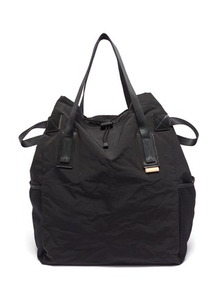 Main View - Click To Enlarge - HENDER SCHEME - Drawstring tote bag