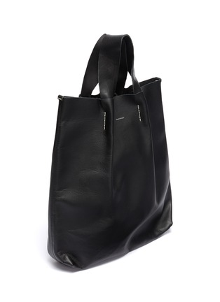 Detail View - Click To Enlarge - HENDER SCHEME - 'Piano' pleated leather tote