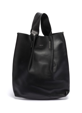 Main View - Click To Enlarge - HENDER SCHEME - 'Piano' pleated leather tote