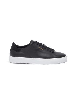 Main View - Click To Enlarge - AXEL ARIGATO - 'Clean 90' suede counter leather sneakers