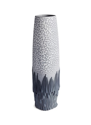 Main View - Click To Enlarge - L'OBJET - x Haas Brothers Mojave vase – Grey/Charcoal