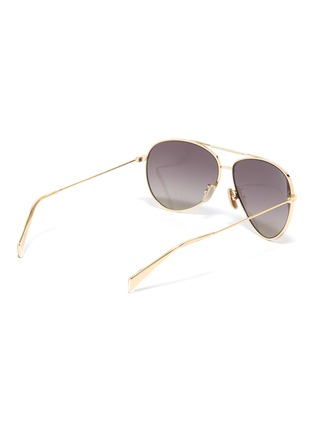 3dca27a133a5 Figure View - Click To Enlarge - CELINE - Metal aviator sunglasses