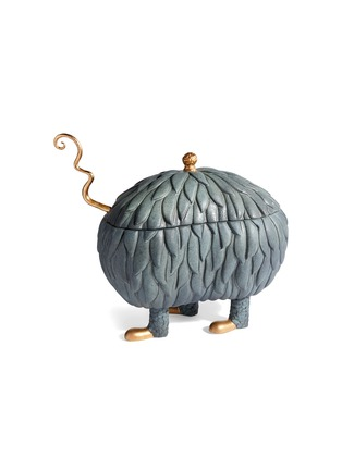Main View - Click To Enlarge - L'OBJET - x Haas Brothers Lukas Soup Monster tureen set –Grey