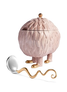 L'OBJET x Haas Brothers Lukas Soup Monster tureen set –Pink