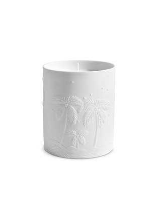 - L'OBJET - x Haas Brothers Mojave Palm scented candle 350g – White
