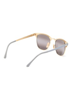 Ray-Ban 'Clubmaster' metal square sunglasses