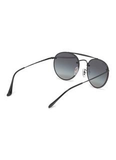 Ray-Ban 'Blaze' metal round sunglasses