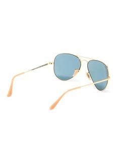 Ray-Ban 'RB3689' metal aviator sunglasses
