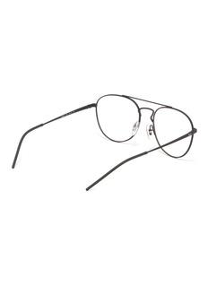 Ray-Ban 'RX6414' metal aviator optical glasses