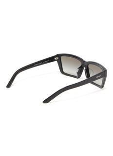 Prada Acetate square sunglasses