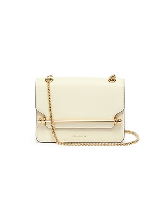 Main View - Click To Enlarge - STRATHBERRY - 'East/West' mini leather crossbody bag