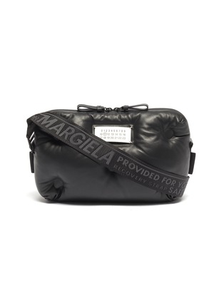 Main View - Click To Enlarge - MAISON MARGIELA - 'Glam Slam' leather bum bag