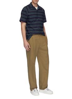 Lanvin Chest pocket Stripe short sleeve shirt