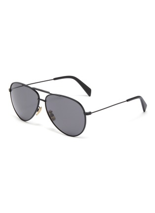 Main View - Click To Enlarge - CELINE - Metal aviator sunglasses