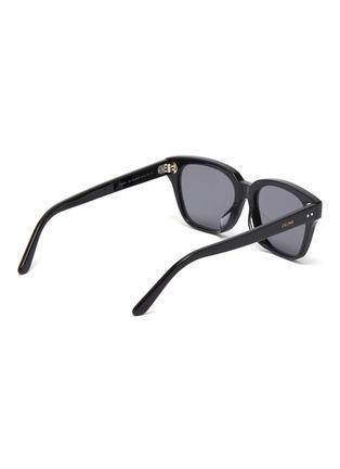 Figure View - Click To Enlarge - CELINE - Acetate square sunglasses