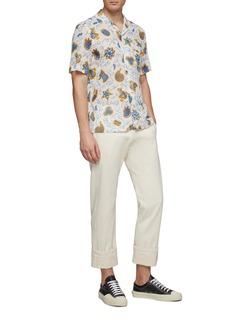 LOEWE x Paula's Ibiza graphic print short sleeve shirt